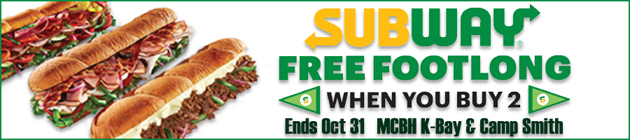Get a FREE sub from Subway!