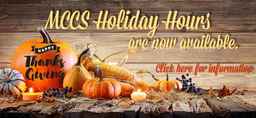 Holiday Hours Thanksgiving