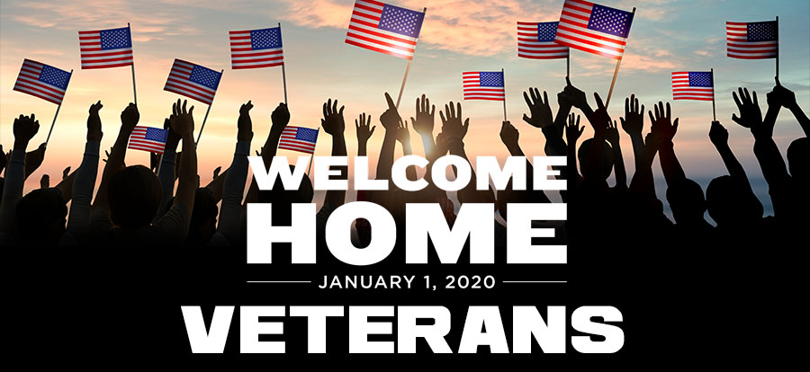 Welcome Home Veterans!