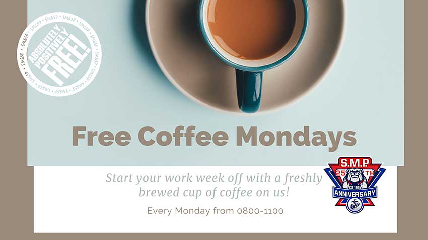 SMSP Coffee Mondays