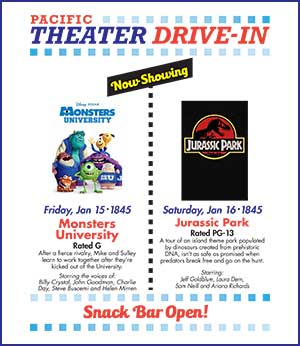 Pacific Theter Drive-In Movies