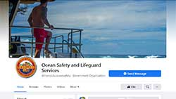 Ocean Safety and Lifeguards Facebook page